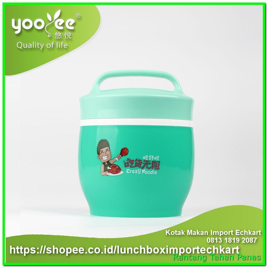 Kotak Makan Kecil Yooyee Sekat 4 Anti Tumpah Mini Leakproof Lunch Box 578 Bocor Tosca 606 Shopee Indonesia