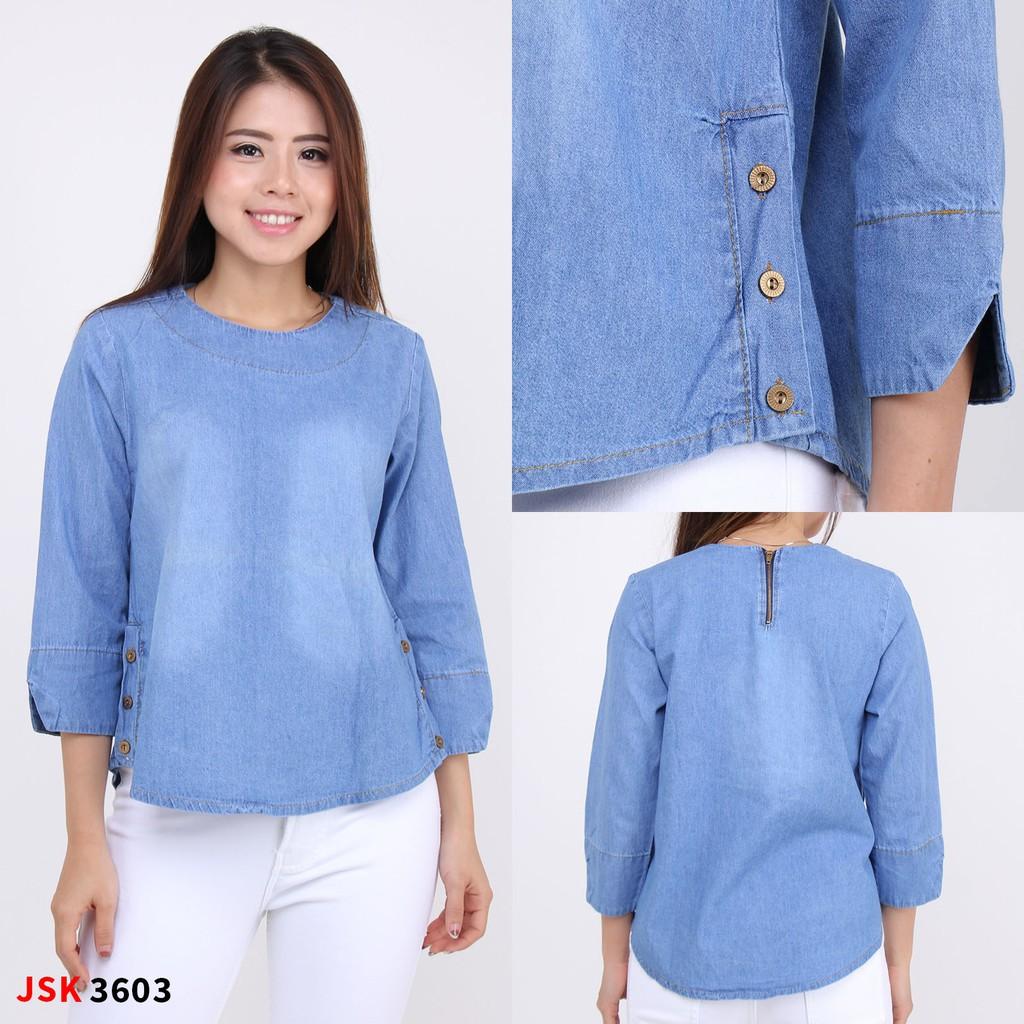 4 Model Atasan Wanita Baju Wanita Baju Jeans Wanita Baju Denim