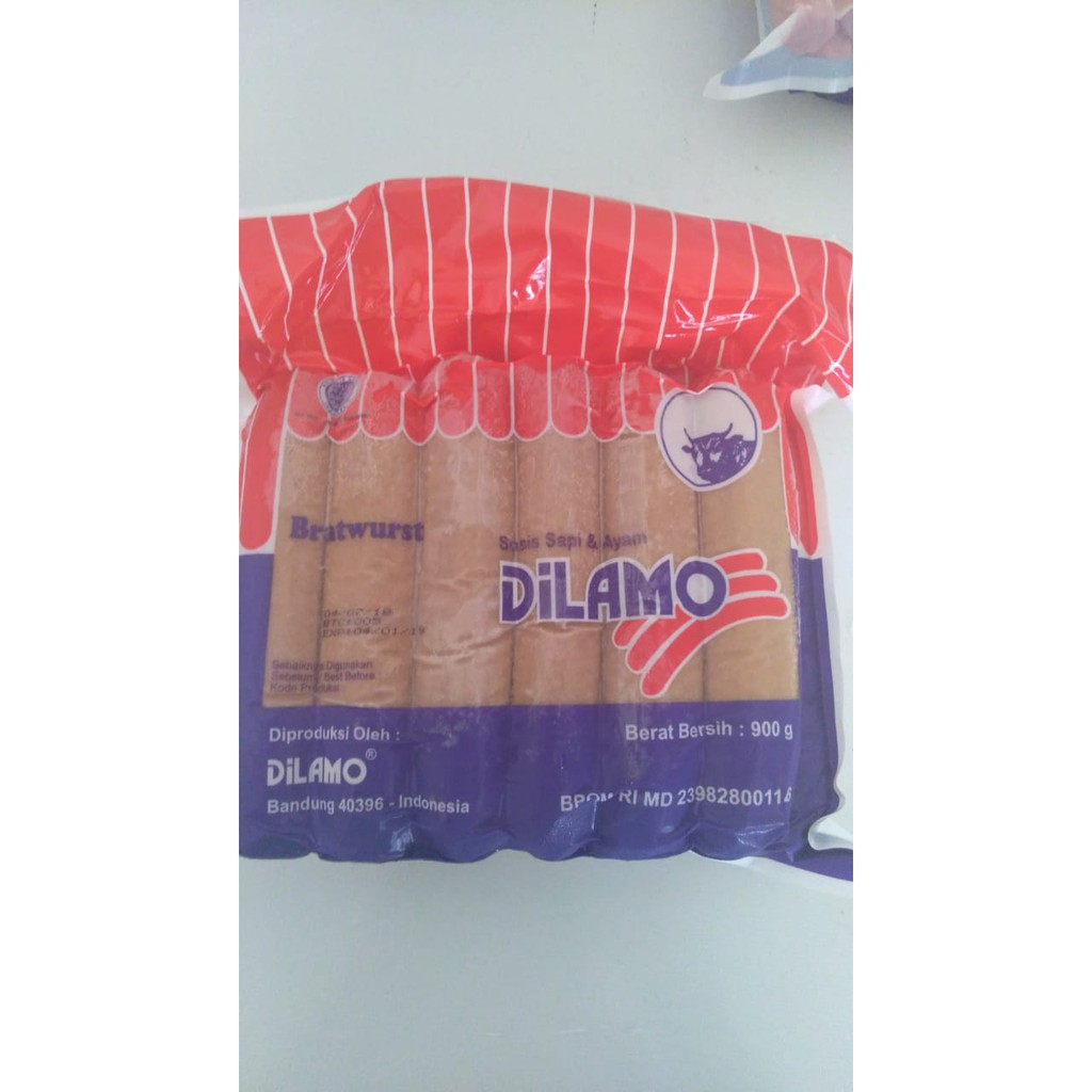 Dilamo Beef Breakfast 1kg Sosis Sapi Shopee Indonesia Fronte Daging 1 Kg Isi 50 Halal Mui