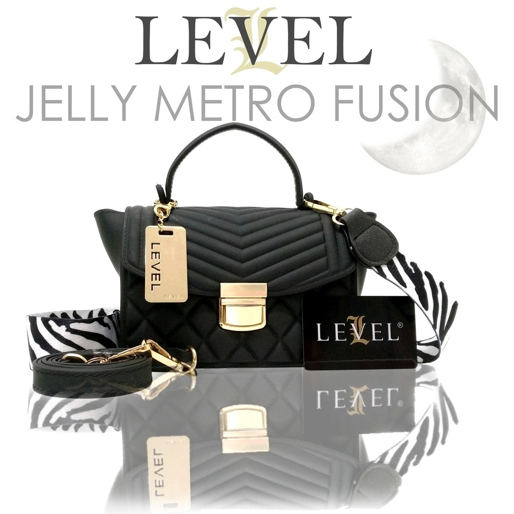 Tas jelly metro fusion tas import fashion slempang shoulder tas wanita tas  cantik tas kekinian  ed4b40dd69