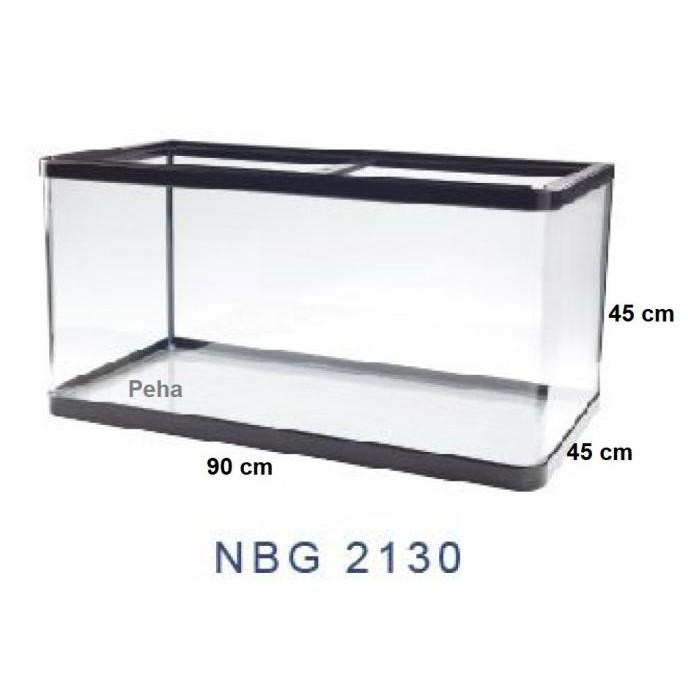 Best Seller] Aquarium Ikan - Akuarium Nisso Manta - Kaca Lengkung P 90 Cm Nbg 2130