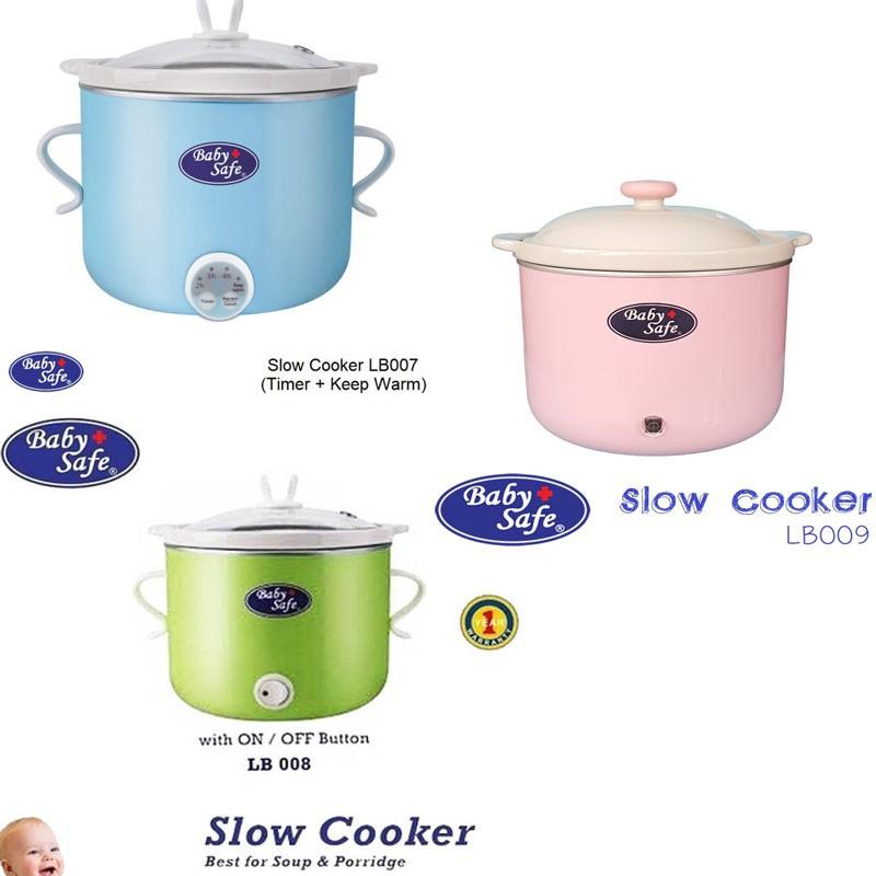 Baby Safe Slow Cooker LB007 LB008 LB009 Babysafe Food Maker Baby Bayi | Shopee Indonesia