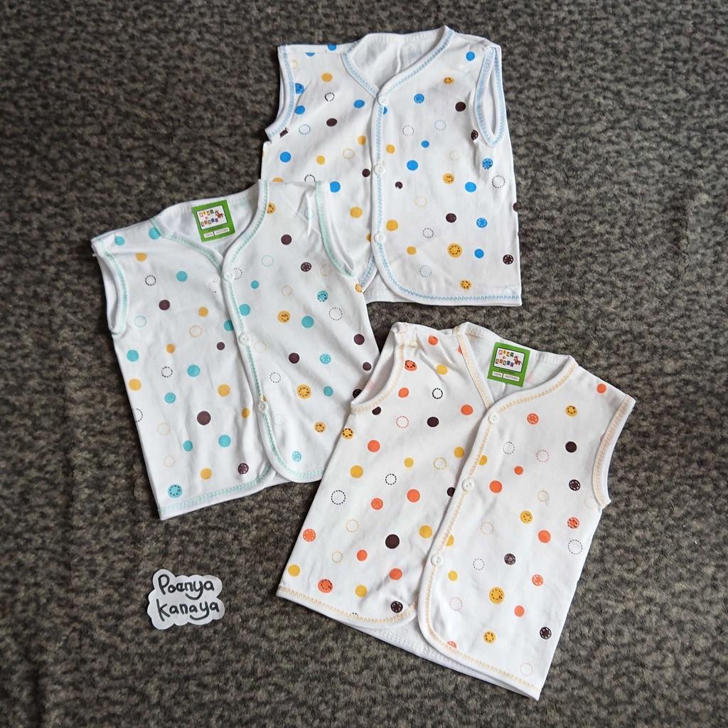 BB04 Baju Kutung Bayi Motif Animal Newborn A&R 0-3 Bulan