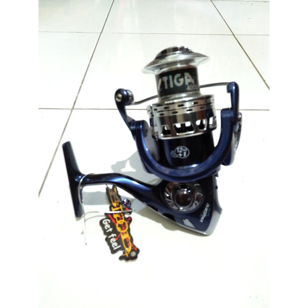 Reel Daido Boxter Dbs 4000 Wow Ryobi Zauber Ll Metal Body Spinning Murah Shopee Indonesia