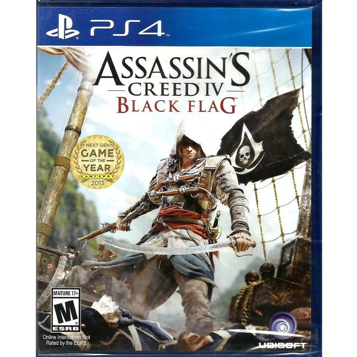 Assassins Creed Iv 4 Black Flag Ps4 Shopee Indonesia