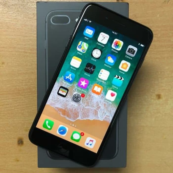Iphone 8 Plus 64gb Second Mulus Original Fullset Shopee Indonesia