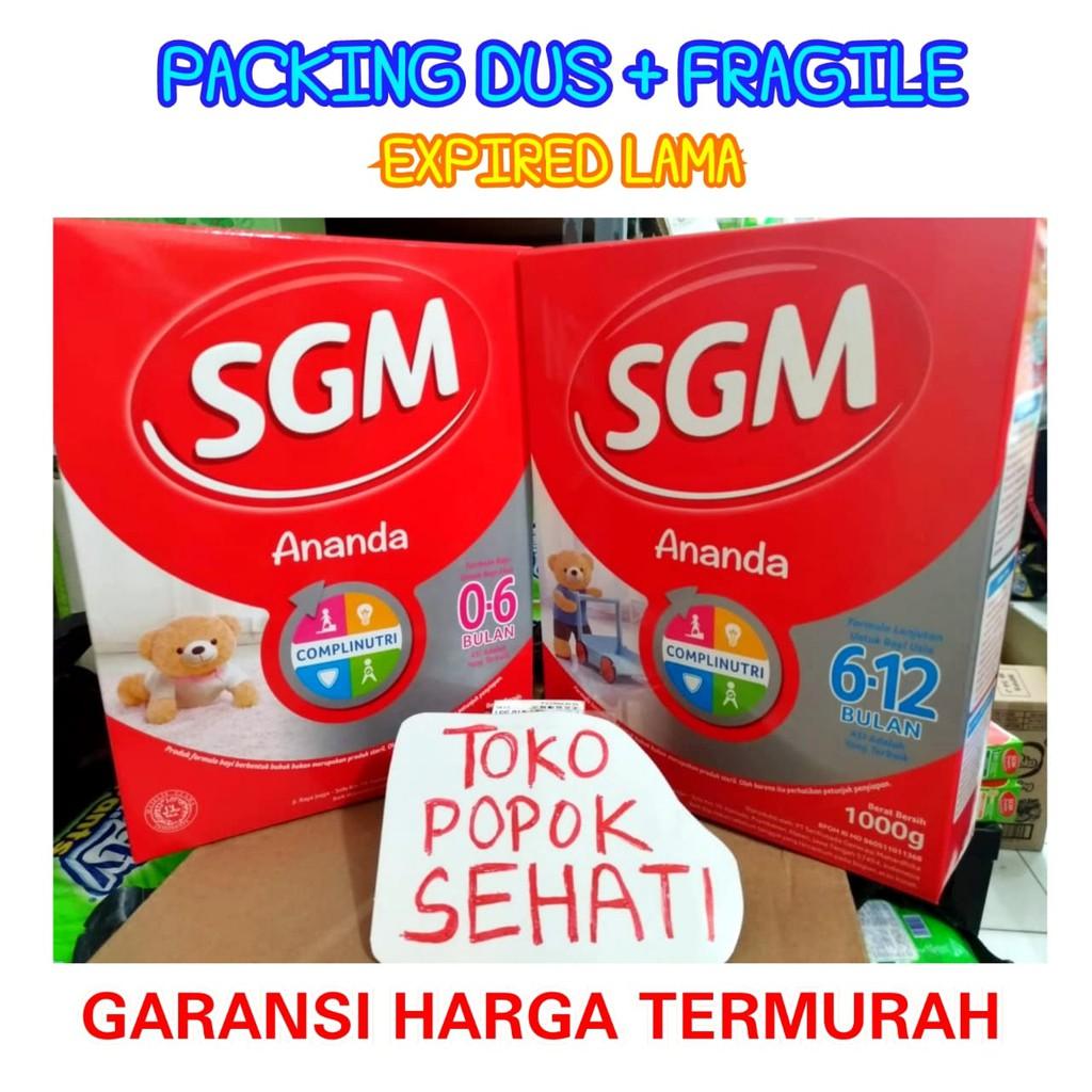 Sgm Ananda Complinutri Susu Formula Untuk Bayi 0 6 Bulan Bubuk Ph Pro 1 3 Tahun 400gr 600gr Shopee Indonesia