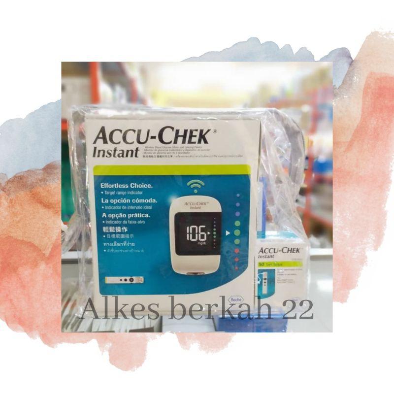 alat accu check instant/accu check instant gula darah