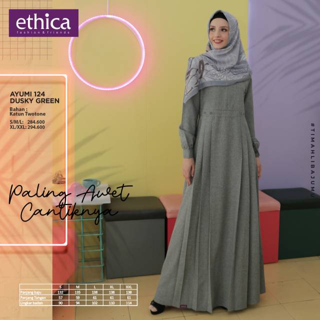 Baju Ethica Dewasa Gamis Ethica Terbaru 2020 Jualan Online Lazada