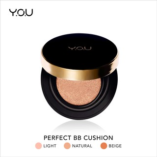YOU Basic Collection Perfect Matte BB cushion (Oil Control Hasil Matte Intense)