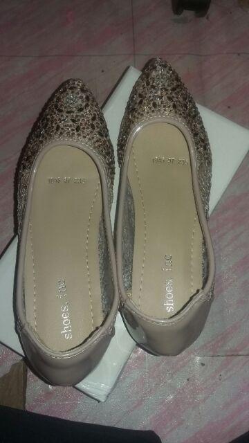 9f079feadbf2 FREE ONGKIR  Sepatu Flat Shoes Empuk Pesta Blink Kualitas Import ...
