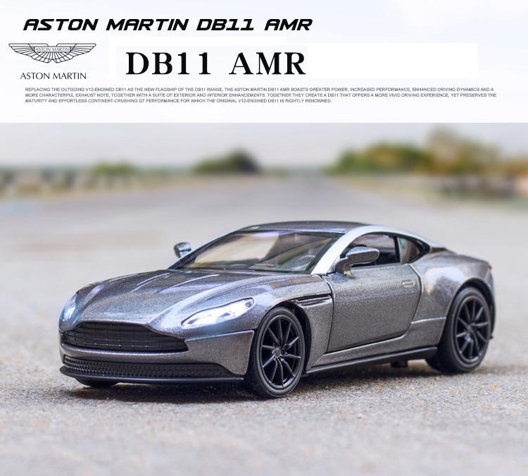 Diecast Mobil Car Hobekars 1 32 Aston Martin Db11 Amr Kendaraan Paduan Model Mobil Suara Dan Cahaya Menarik Kembali Boy Toy Koleksi Hadiah Anak Shopee Indonesia