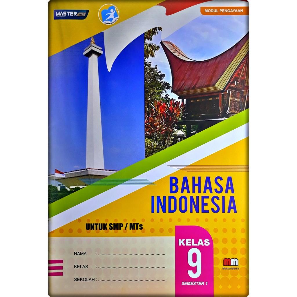Lks Bahasa Indonesia Smp Mts Kelas Ix 9 Semester 1 2020 2021 Mm Shopee Indonesia