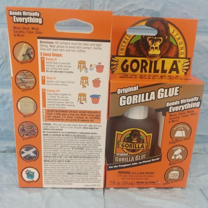 Lem Merk Gorilla Original Gorilla Glue Made In Usa Shopee Indonesia
