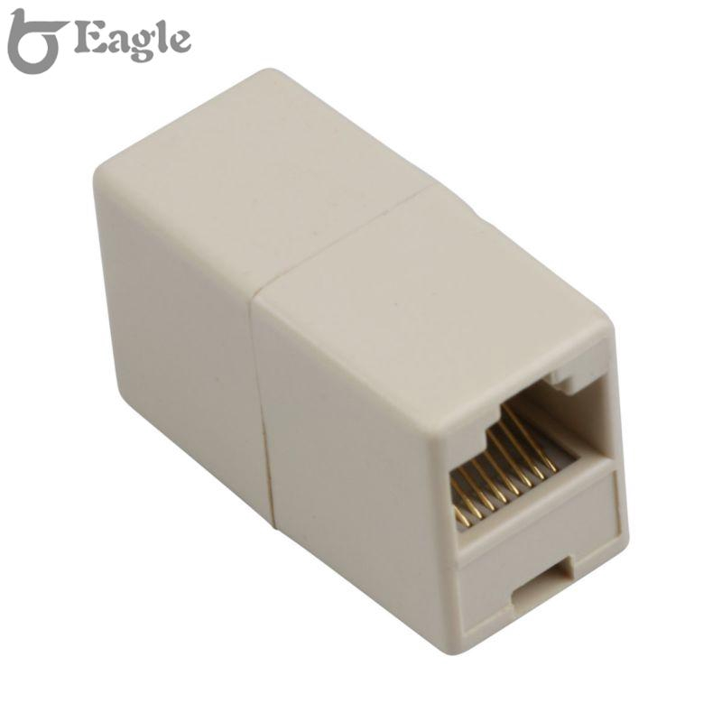 RJ45 Coupler Female F//F Network Cable LAN Connector Joiner Adapter 10X 10-pack
