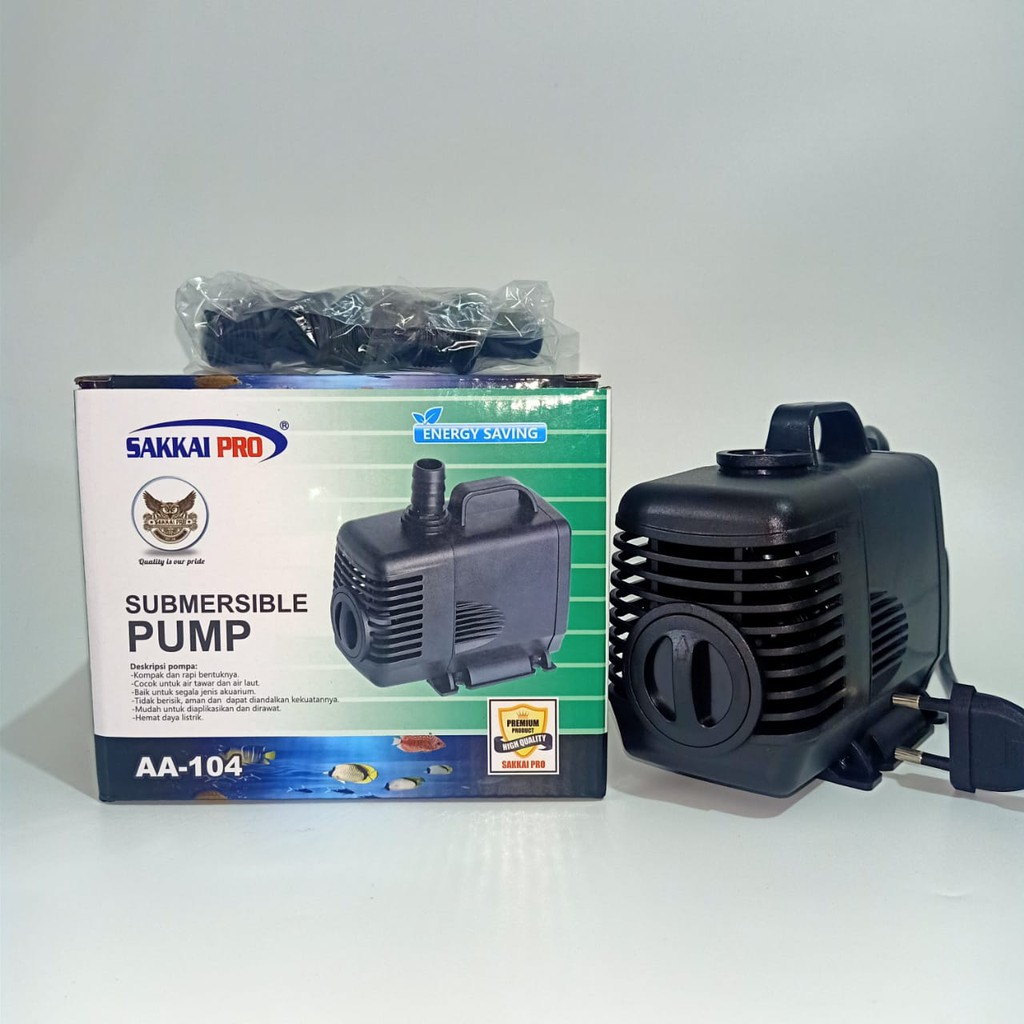 Submersible Pump AA-104 Sakkai Pro Pompa Aquarium Celup ...