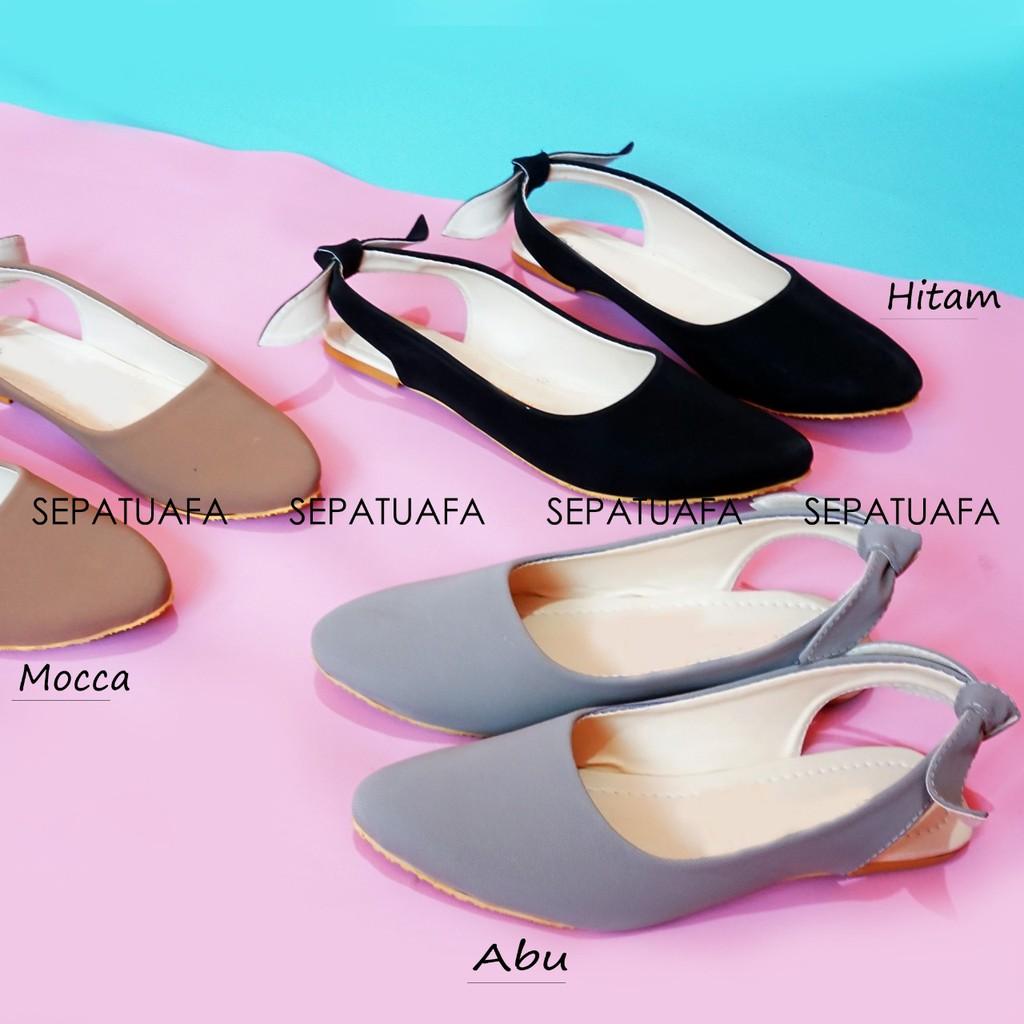 Shoegood - Flat Shoes Sepatu Teplek Wanita Pita Belakang AYALA AS04 ... dc48e8f203
