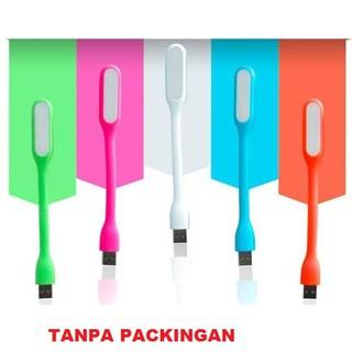 USB LED Lampu Baca Stick Portable Tekuk Lamp Light