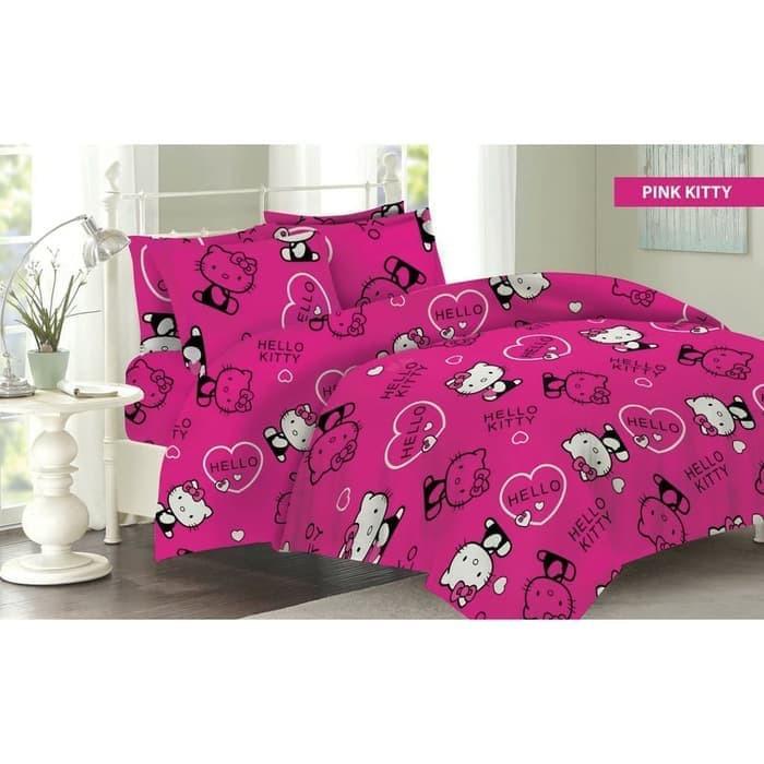hello+kitty+kamar+tidur+sprei+bedcover - Temukan Harga dan Penawaran