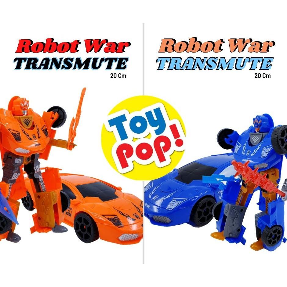 Mainan Anak Laki Laki Robot War Transformation Bisa Berubah Jadi Mobil Balap Shopee Indonesia