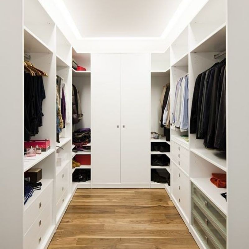 Walk In Closet Custom Lemari Pakaian Shopee Indonesia