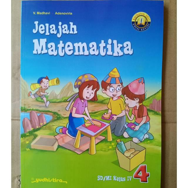 Jelajah Matematika Sd Kelas 4 K13 Revisi Shopee Indonesia