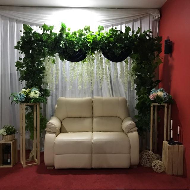 Dekorasi Backdrop Lamaran Wedding Photo Booth Aqiqah
