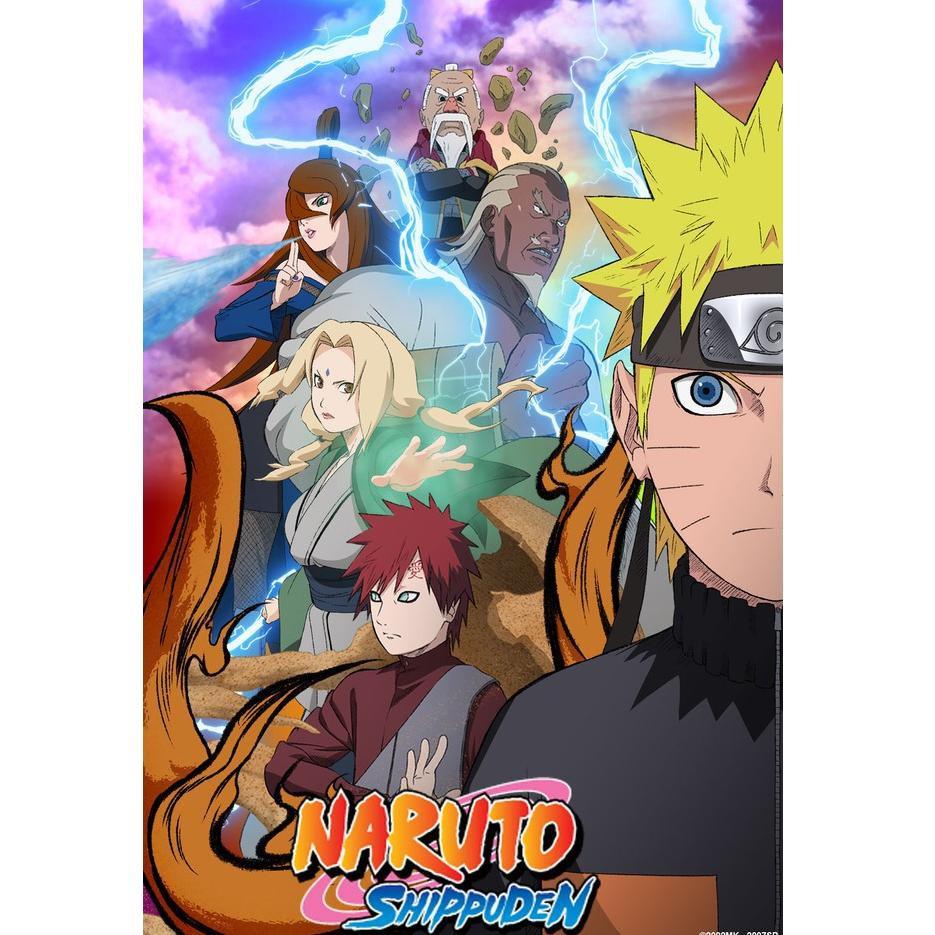 KODE BARANG 464] DVD Naruto Shippuden Episode 1-500 Tamat Sub Indo Full  Episode