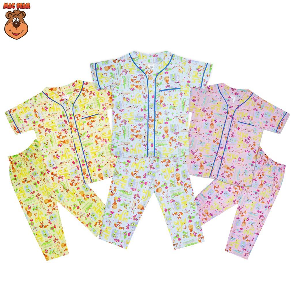 Macbear Baju Anak Kemeja Full Print Robo Kids Shopee Indonesia Macbee Dress Singlet Candytuft Flowers