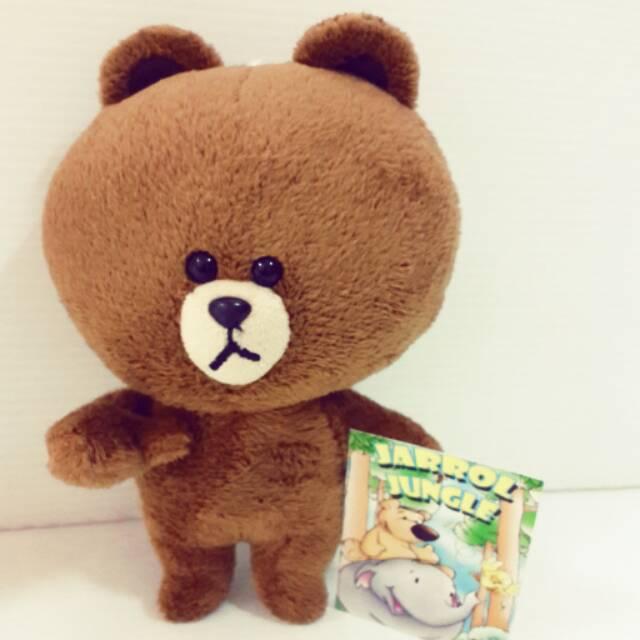 Boneka Bear Brown M Kaos Sally LINE  2e0b3e7bf7