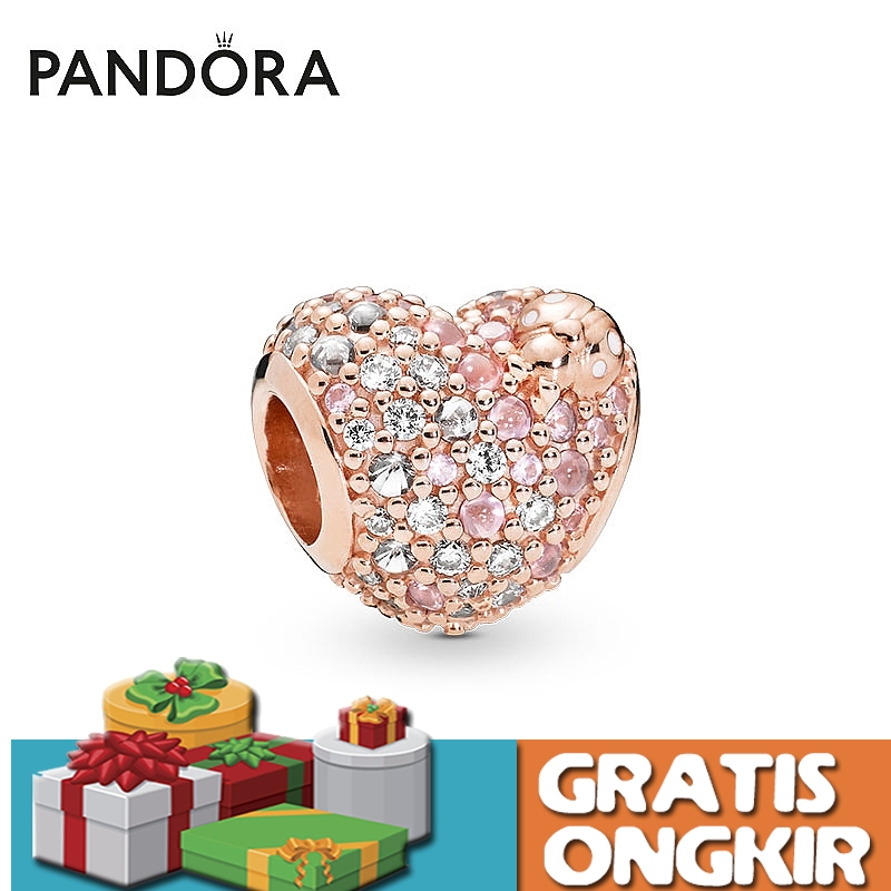 Gratis Ongkir Pandora Charm Golden Shining Ladybug Heart Bracelet Charms 925 Silver Gelang Aksesoris Perak Fashion Shopee Indonesia