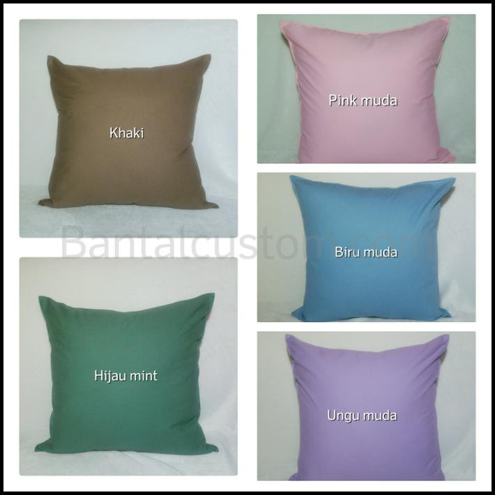Belanja Murah Best Deal Sarung Bantal Sofa Kanvas 40x40 Lowest Price