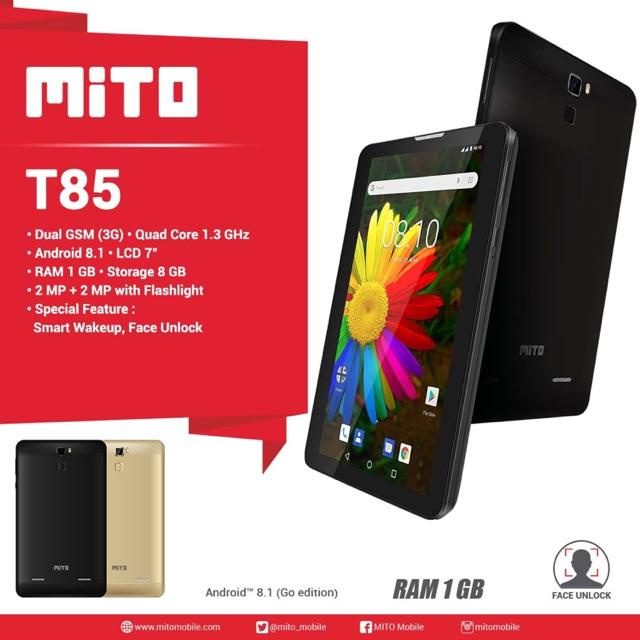 MITO T85 tablet 7 inch- Ram 1/8Gb -garansi resmi