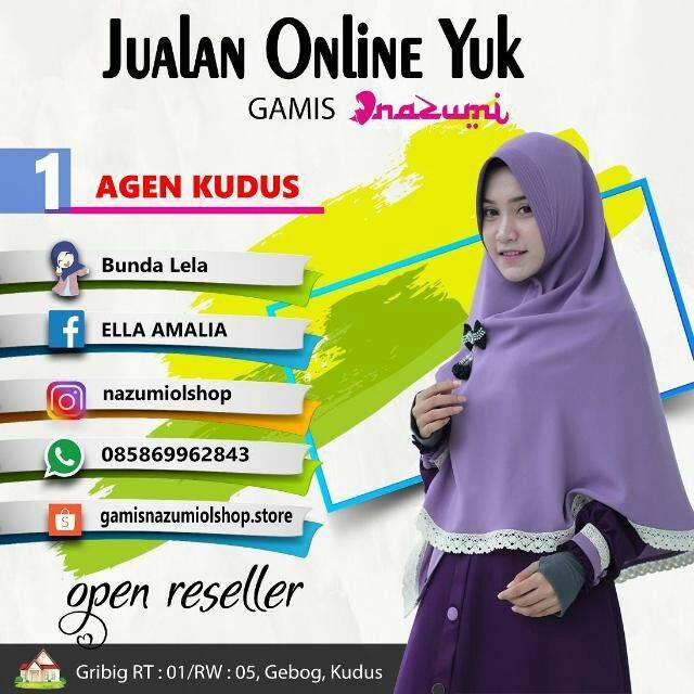 Gamis Set Nazumi Shopee Indonesia