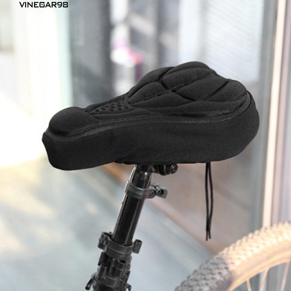 BaseCamp Bantal Sepeda Bahan Kulit 3D Sepeda MTB Warna Hitam | Shopee Indonesia