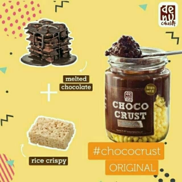 Choco Crust Denu Snack Kue Cokelat Melt Chococrust Choco Crispy Shopee Indonesia