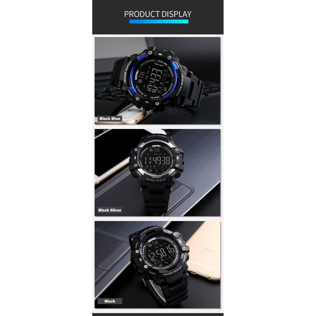 SKMEI Bluetooth Jam Tangan Olahraga Smartwatch 1226 DG1226 BL