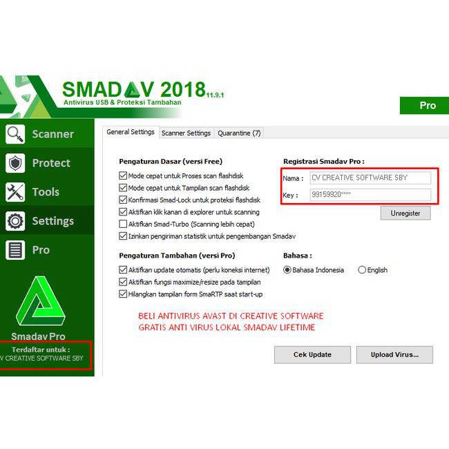 Antivirus Avast Premier Key License Aktif Hingga 5 Tahun Termurah Kode 246 Shopee Indonesia