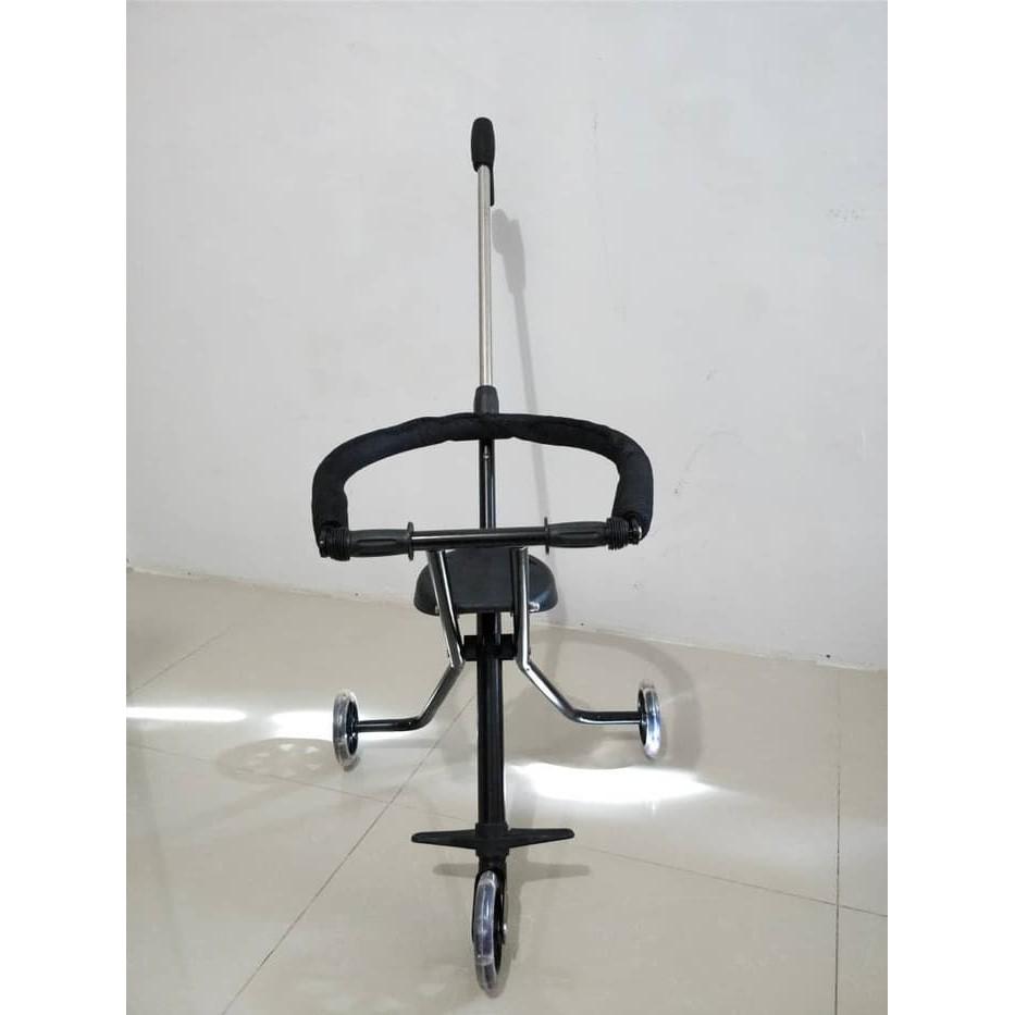 Magic Stroller Micro Trike 5 Roda Sepeda Dorongan Anak Pake Dus Balita Bayi Shopee Indonesia