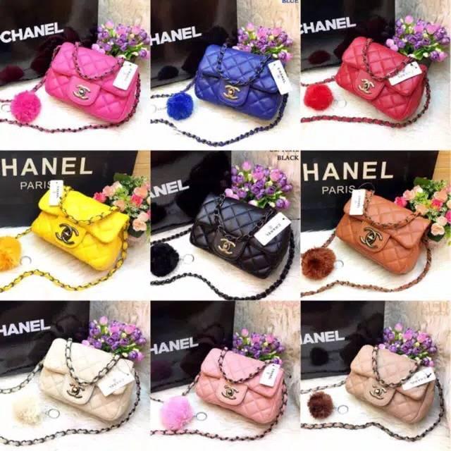 1865c7d1b8ed Chanel Mini Baby Sling TERMURAH!! Tas Batam Channel Tas Slempang | Shopee  Indonesia