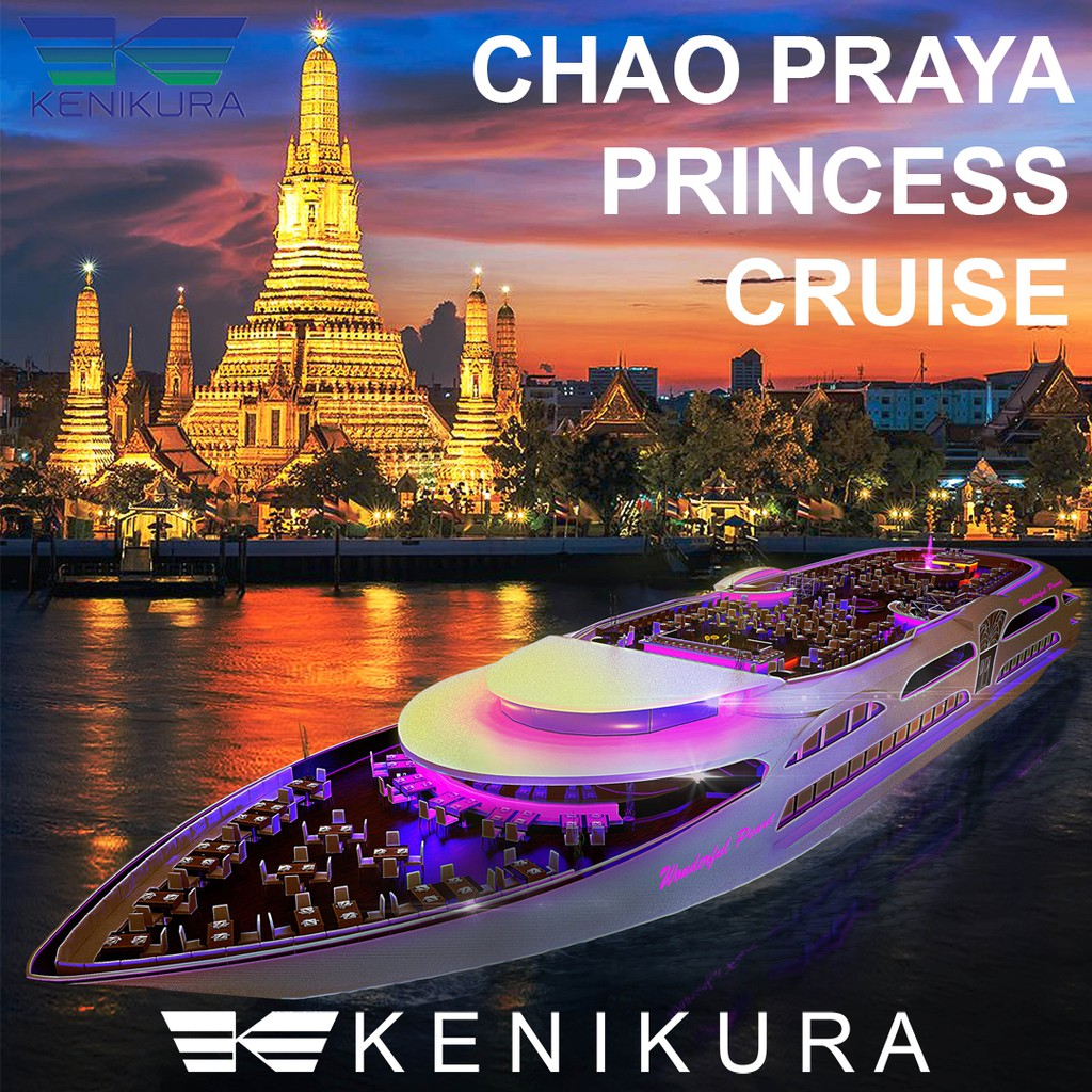 Tiket Siam Niramit Bangkok Cepat  Dewasa Dinner Cruise By River Star Princess Shopee Indonesia