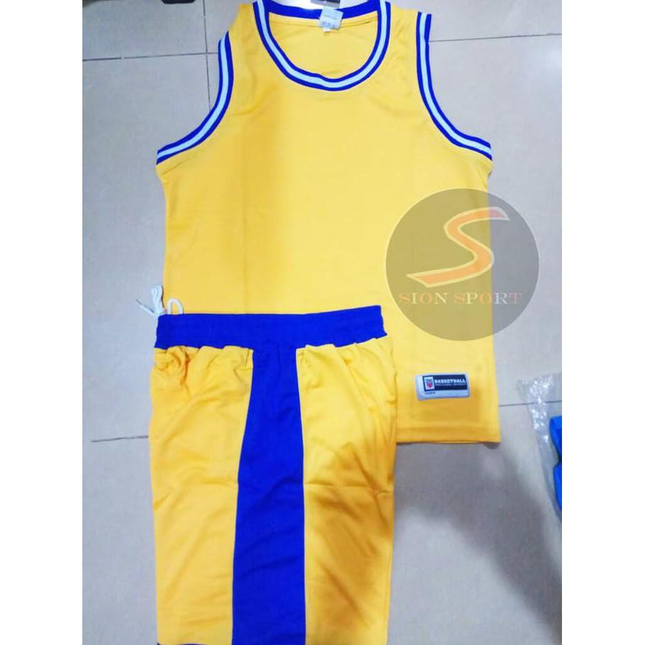 more photos 99251 69e29 Setelan Jersey Baju Basket NBA POLOS Import - Golden State Warriors -  Kuning, XL