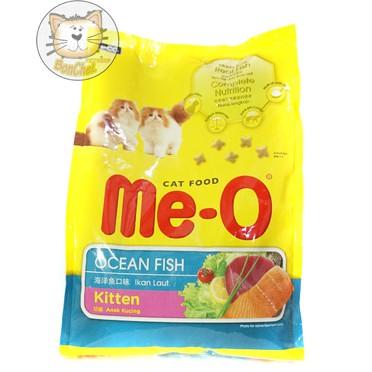 Makanan Kucing Me O Meo Kitten Ocean Fish 1 1kg Shopee Indonesia