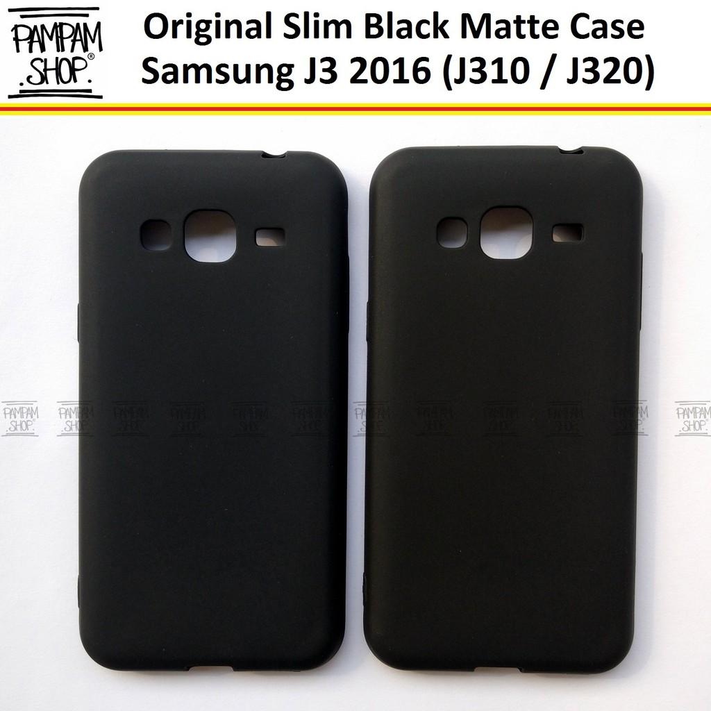 the latest 2baa7 4445b Soft Case Slim Black Matte Samsung J3 2016 J310 J320 Ultrathin Ultra Thin  Blackmatte Softcase
