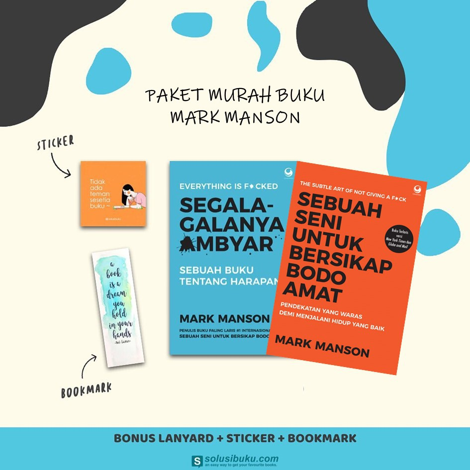 Ready Buku Everything Is F Cked Segala Galanya Ambyar Bodo