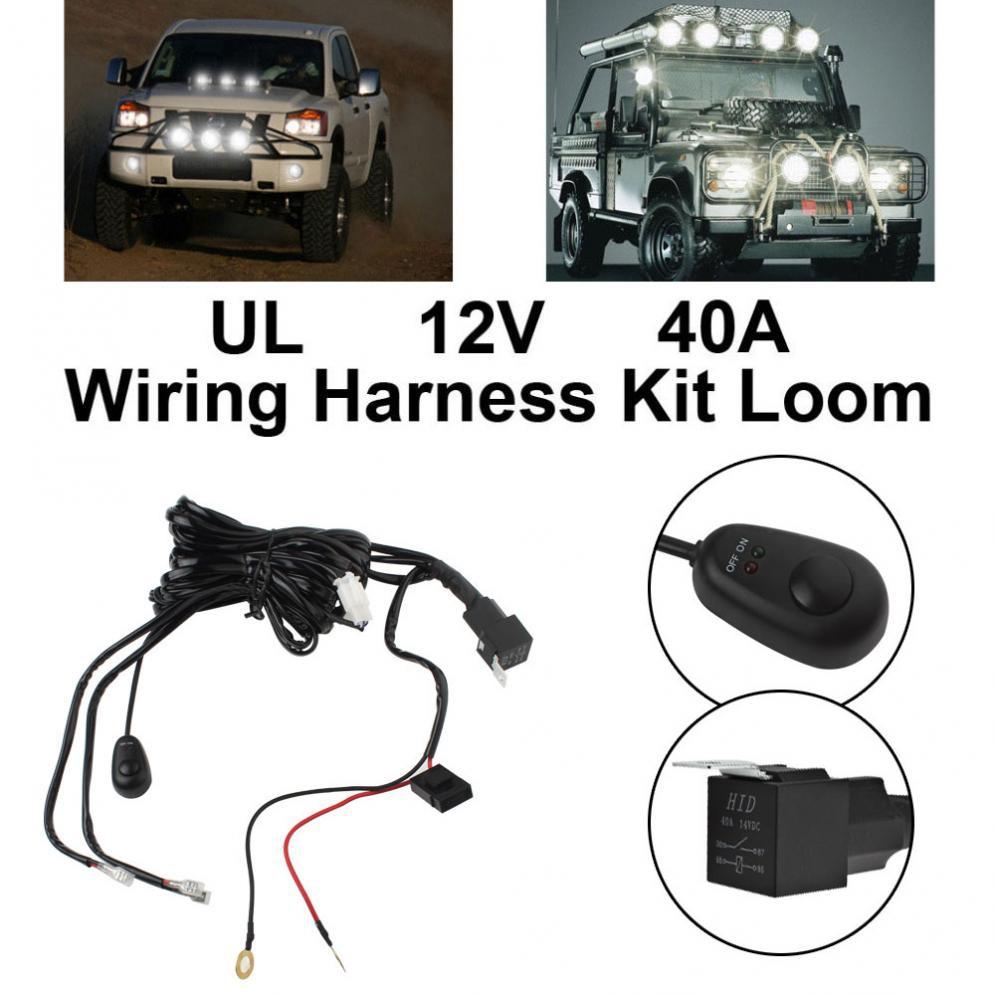 Fog Light Wiring Harnes Kit