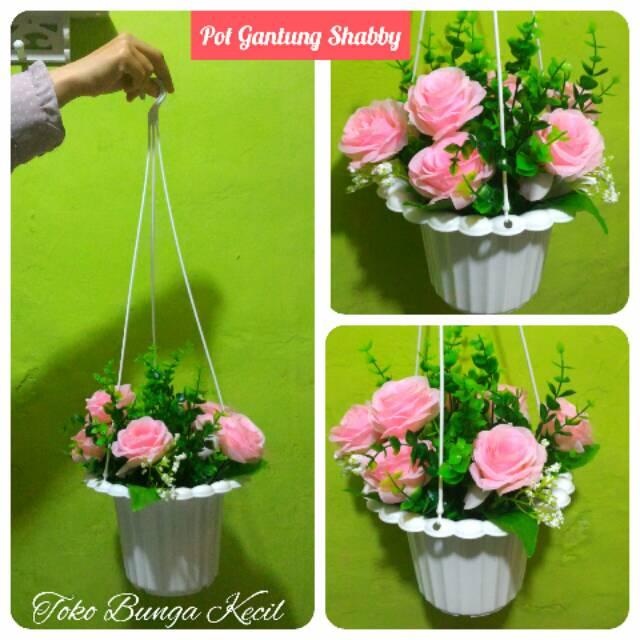 Blooming Rose bunga mawar hias mawar artificial mawar plastik ... 524794f4a9