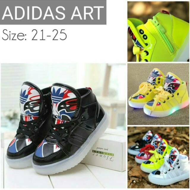 Size 21-30 Adidas LED star   Sepatu Anak   Walker Shoes  7c70a86b4f
