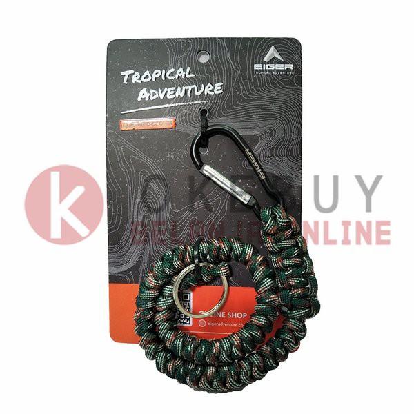 Keychain Eiger 910003939 Wallet Chain Carabiner Gantungan Kunci Hijau Shopee Indonesia