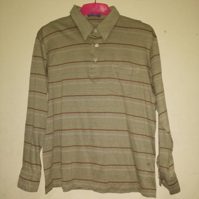 Polo Shirt Long Sleeve Austin Reed Of London Size M Ikbamshop Shopee Indonesia